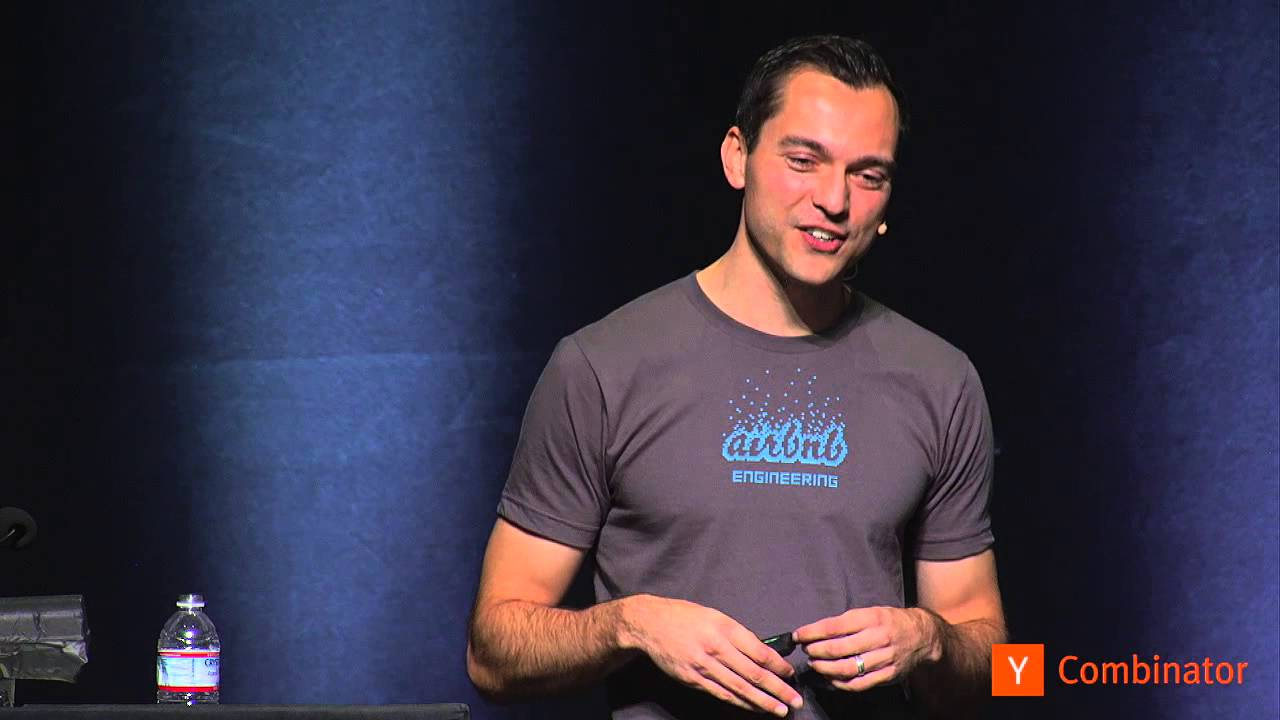 Nate Blecharczyk at Startup School 2013