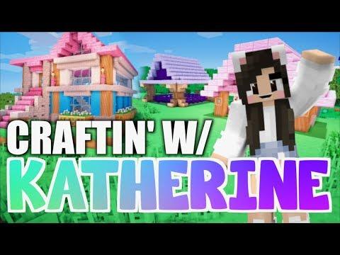 Minecraft ANIMAL VILLAGE! Craftin' w/ Katherine Ep. 11