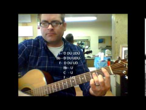 How To Play Follow Me By Uncle Kracker Strumming Pattern Youtube