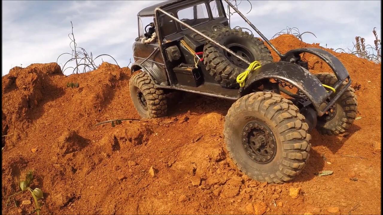 Download North Alabama RC - UniMOG 406 - random dirt pile - 20 Nov 2017