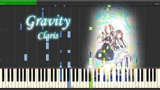 Gravity - ClariS 『クオリディア・コード』 Full Piano 【Sheet Music/楽譜】