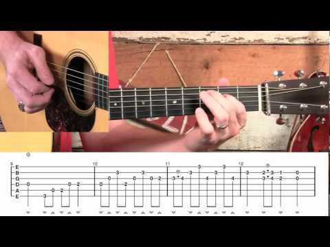 Wabash Cannonball Crosspicking Guitar Lesson!