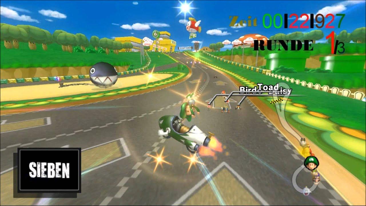 Mkwii Hd Custom Track Gcn Luigi Circuit Made By