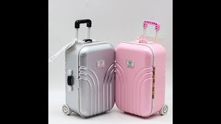 дорожный чемодан для куклы с Алиэкспресс Travel suitcase for dolls with Aliexpress