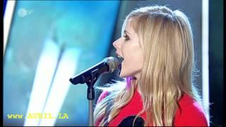 Avril Lavigne When You're Gone live bei Wetten dass aus Basel 06.10.2007