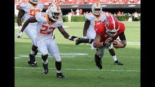 #2 Georgia Highlights Vs. Tennessee 2018   CFB Week 5   College Football Highlights 2018