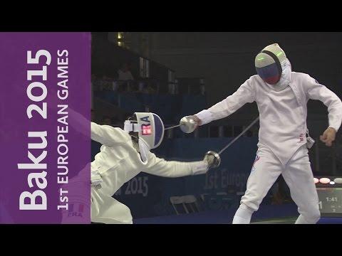 Men's Individual Epee Final Full Replay   Fencing   Baku 2015 European Games