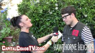 HAWTHORNE HEIGHTS (interview) on CAPITALCHAOSTV COM