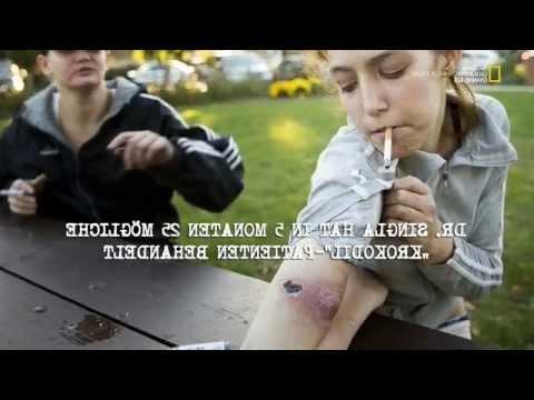 Drogen im Visier - Die Horror Droge Krokodil HD Deutsch 2015