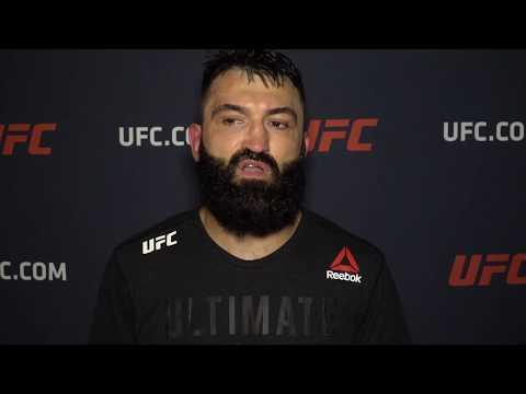 UFC Джексонвилл: Андрей Орловский - Интервью после победы