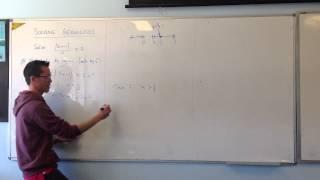 Solving Inequalities Using Regions: Multiplying by x²