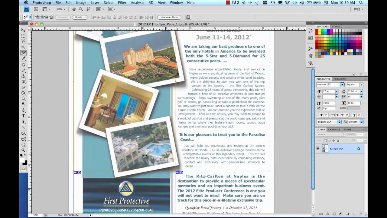 Create html email part 3 slicing for the web in photoshop for How to create email template using html
