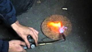 видео газовая горелка для сварки металла
