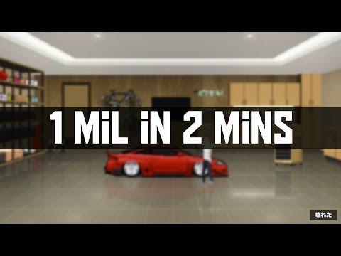 Pixel Car Racer - 1 Million in under 2 Mins!! [PCR TRICK]