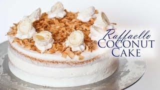 Raffaello Coconut Cake