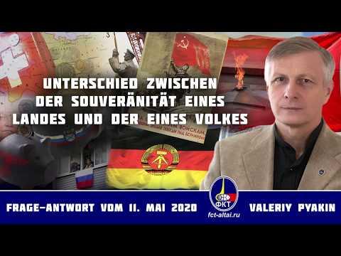Die Rolle der Schweiz in der Welt und die Souveränität eines Volkes (Valeriy Pyakin 11.5.2020)