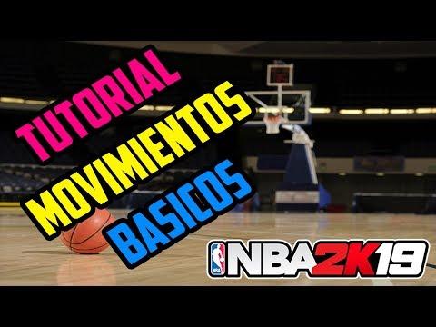 NBA 2K19 | Tutorial Movimientos básicos - Tiro, Euro Step, Bomba y más | Español