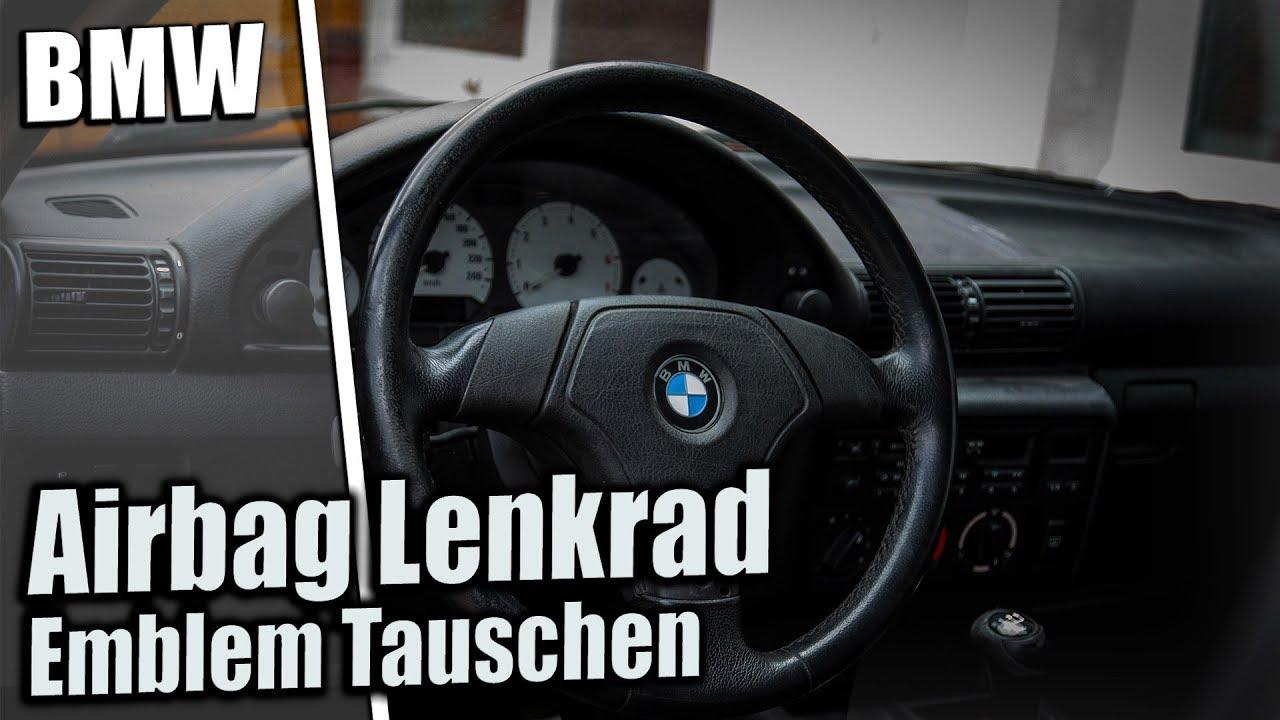 Bmw Airbag Lenkrad Emblem Tauschen