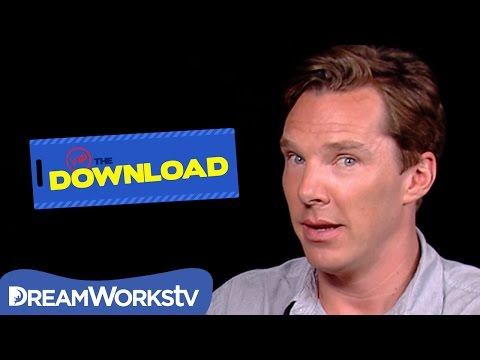 Benedict Cumberbatch Reacts to Crazy Interview | THE DREAMWORKS DOWNLOAD