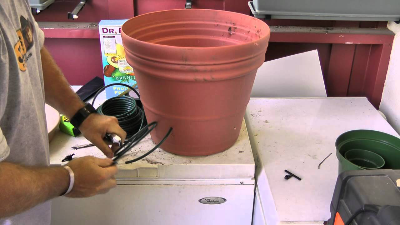 Automatic watering system for potted plants - Automatic Watering System For Potted Plants 16