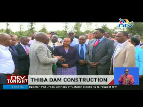 Thiba dam construction expected to double rice production in Mwea Irrigation Schemes