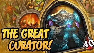 The Great Curator!   Saviors of Uldum   Hearthstone