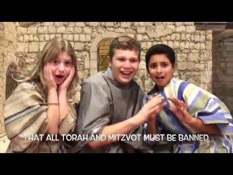 Come on and Light with Me! - SAR Academy Chanukah 2015