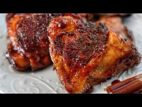 THE BEST OVEN BAKED BBQ CHICKEN RECIPE! | SERIOUSLY IT'S BOMB!