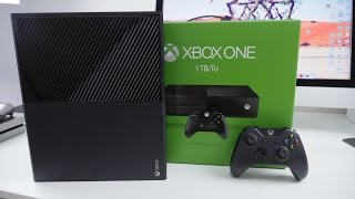 Xbox One 1TB UNBOXING