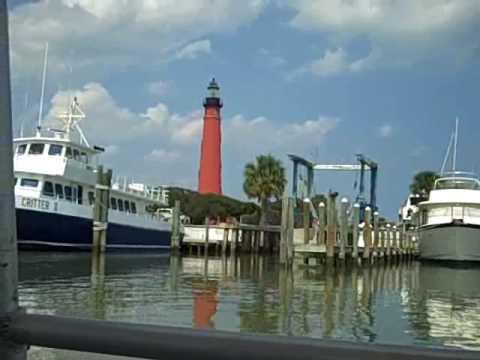 Aqua Safari Ponce Inlet Daytona Beach Florida Lighthouse