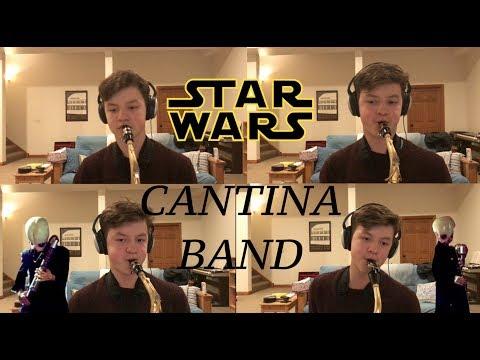 Cantina Band Saxophone Multi-Track