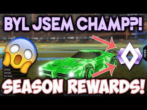 BYL JSEM V CHAMPU?! SEASON REWARDS! | ROCKET LEAGUE #7 thumbnail
