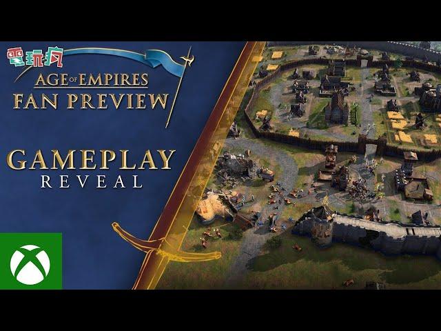 《世紀帝國 4》總算揭露遊戲遊玩影片!初始八個文明讓你玩 2021 秋天開戰!