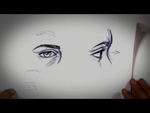 How to Draw a Realistic-Looking Eye   Drawing Tips