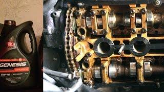 200 000 на Castrol, состояние мотора  V6 2.8. Перехожу на LUKOIL Genesis.
