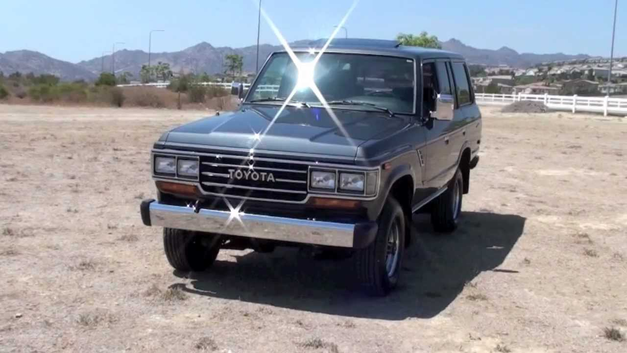1989 FJ62 Toyota Land Cruiser for Sale by TLC!