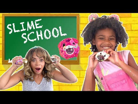 Slime School Test Day With Pikmi Pops