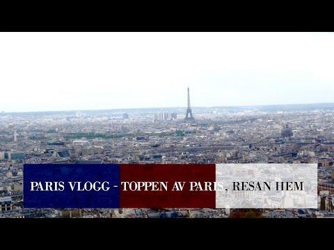 PARIS VLOGG - Självmord igen, Resan hem│ LOUISE JORGE