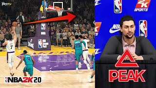 NBA 2K20 My Career EP 3 (T.Romeo) - 1st Lob and Endorsement! No More Peak!