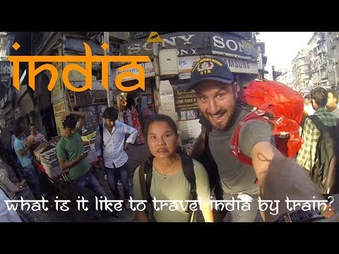 India travel video - a 14 day journey from Kochi to Agra on the Indian Railway