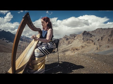 Highest Harp Concert In The Himalayas - Siobhan Brady