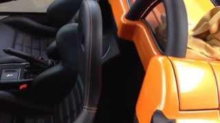 Ferrari F-430 wash and wax detail. Video