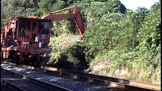 Norfolk Southern Railroad Brush Cutter Railway MOW