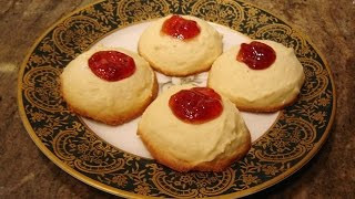 Raspberry Thumbprint Cookies By Diane Love To Bake