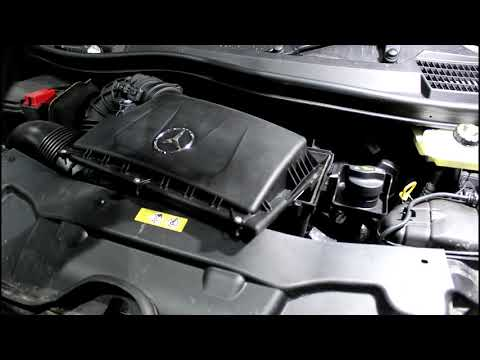 Mercedes Benz V Class V250 Bluetec 2,2  Мерседес Бенц 2015  Замена масла в двигателе и фильтров