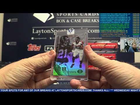 2017 Panini Illusions Football Hobby 8 Box Case Break #22 – RANDOM TEAMS