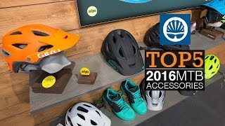 Top 5 - 2016 MTB Accessories & Components(It's all well and good lusting over the latest mountain bike frames but a lot of tech goes into the accessories that make a bike rideable. Hit play to check out our ..., 2015-11-11T14:45:49.000Z)