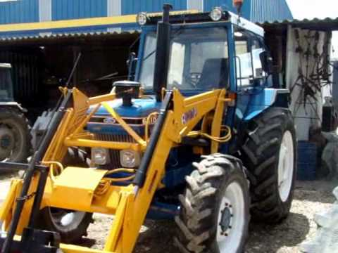 Tractor Usado Ford 6610 DT con pala Eveliocasion