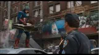 The AVENGERS - Captain America Defense Strategy [HD]