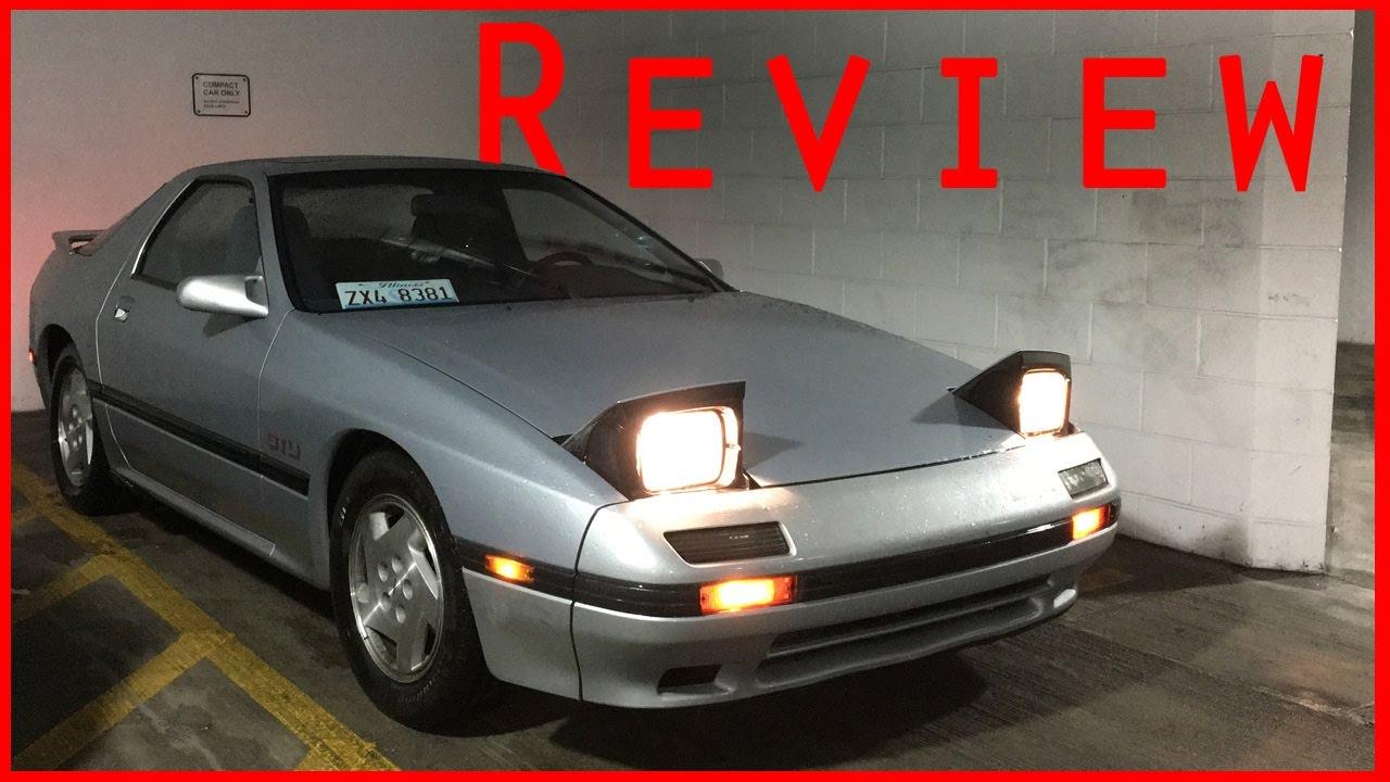 1988 Mazda Rx7 Gtu  Fc  Review